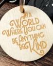 Be Kind Keychain