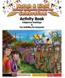 Nuttah & Kitchi Activity Book