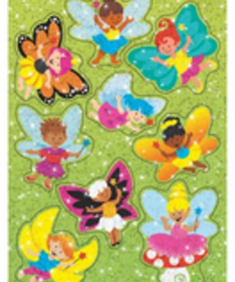 Flittering Fairies Sparkle Stickers