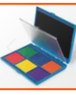 Learning Resources 7 Color Washable Stamp Pad