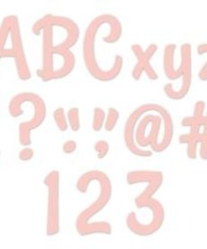 Stylish Blush Designer Letters