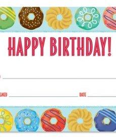 Donuts Happy Birthday Awards