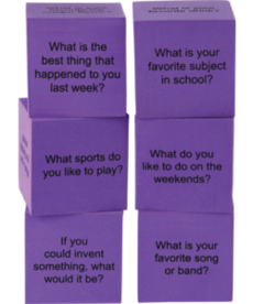 Foam Conversation Cubes