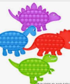 Dinosaur Poppers
