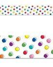 Doodle Dots on White Border