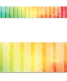 Rainbow Row Straight Border