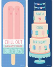Happy BIrthday Calm & Cool Bookmark