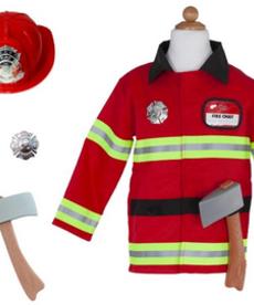 Firefighter Costume in Garment Bag-(SZ 5-6)