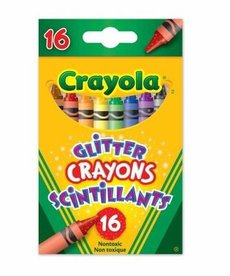 Crayola Glitter Crayons 16ct