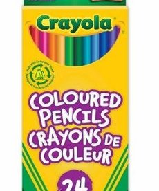 Crayola Pencil Crayons 24pk