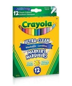 Crayola Ultra-Clean Classic Colors Fine Line 12pk