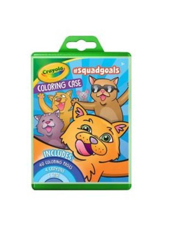 Crayola Coloring Case #Squadgoals