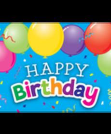 Happy Birthday Balloon Postcard