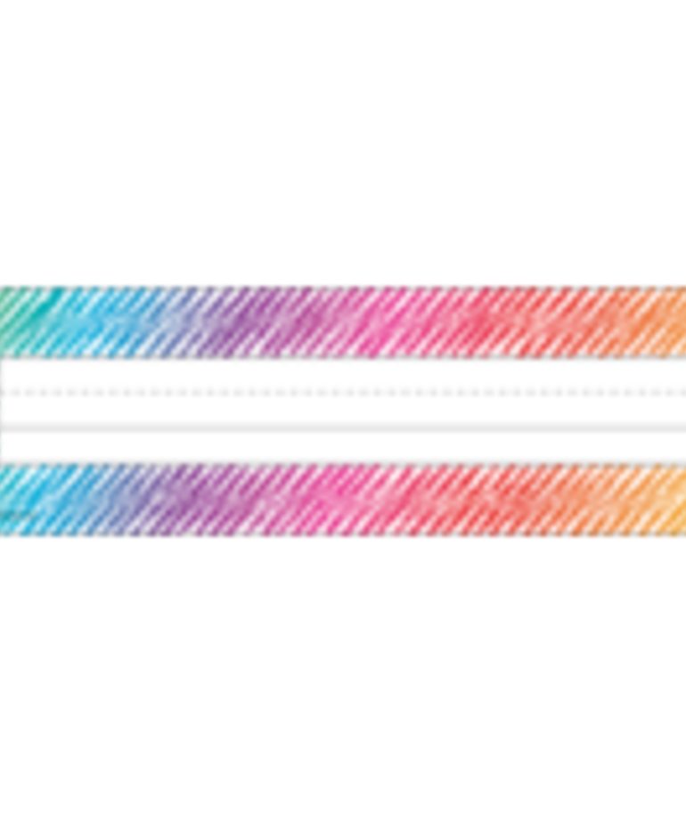 Colorful Scribble Name Plate