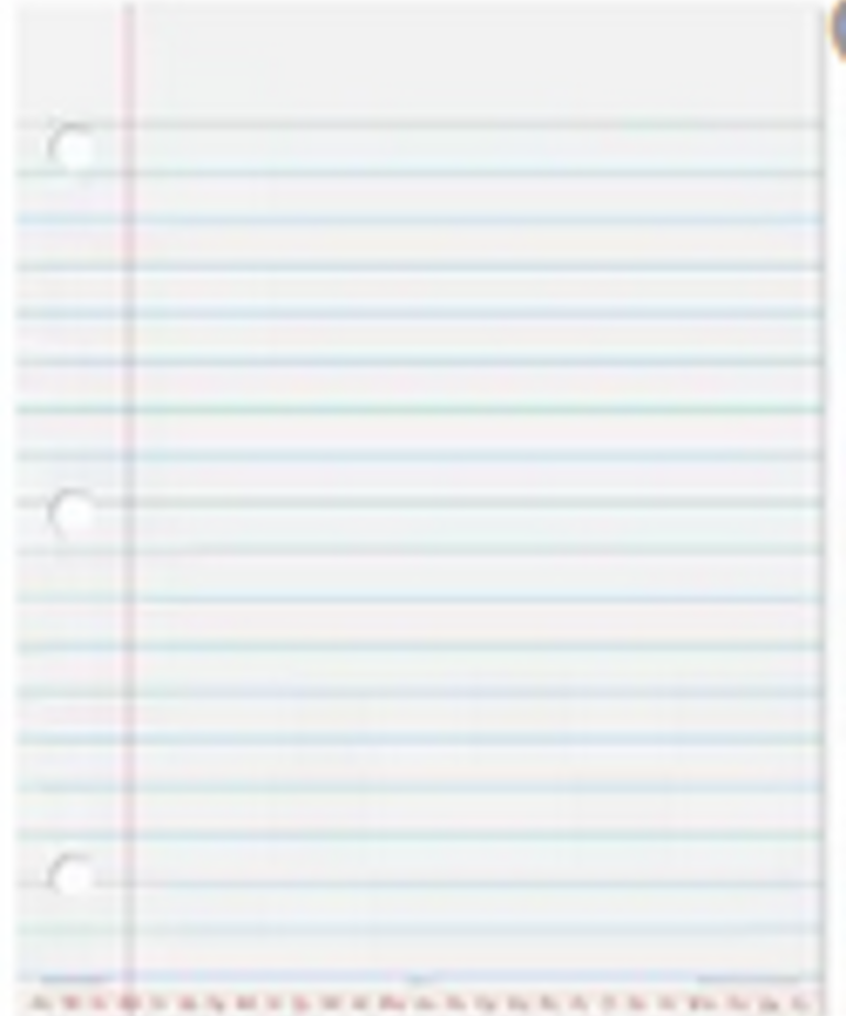 Learning Resources Copy of Magnetic Notebook Paper