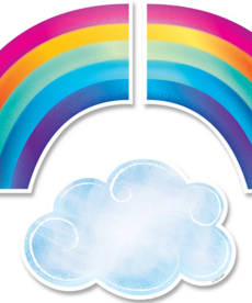 Rainbows and Clouds Cut-outs