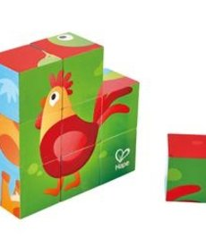 Hape Farm Animal Cube Puzzle