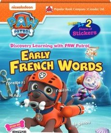 Paw Patrol Early French Words Flashcards