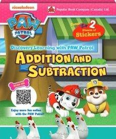 Paw Patrol Addition & Subtraction Flashcards