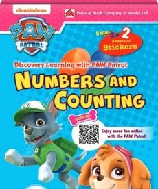 Paw Patrol Numbers & Counting Flashcards
