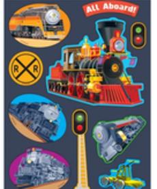 Terrific Trains Stinky Stickers