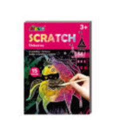 Mini Scratch Pad-Unicorns