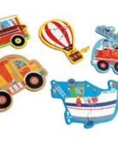 Scratch Puzzles - Vehicles
