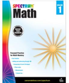 Spectrum Math (1) Book