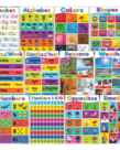 Colorful Early Learning Poster Set