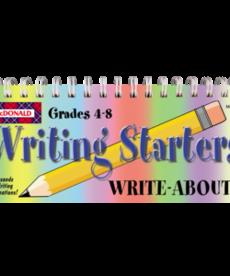 Writing Starters Gr 4-8