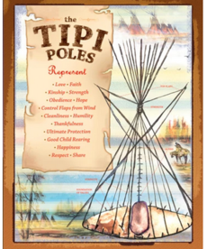 Tipi Poles Poster