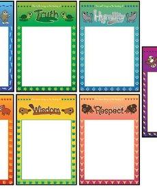 Wipe Clean Seven Teachings Posters
