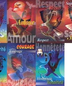 French Poster set - Seven Teachings