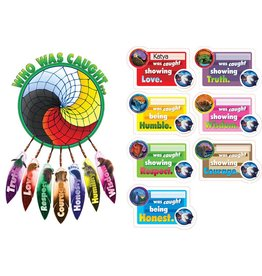 Seven Teaching Bulletin Board Set- Dreamcatcher