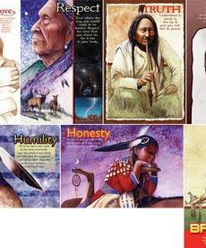 Seven Teachings poster set