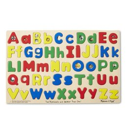 Melissa & Doug Upper and Lowercase Alphabet