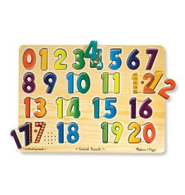 Melissa & Doug Numbers Sound Puzzle