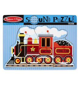 Melissa & Doug Train Sound Puzzle