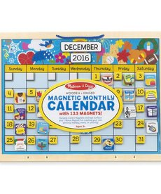 Melissa & Doug Monthly Magnetic Calendar