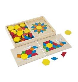 Melissa & Doug Pattern Blocks and Boards