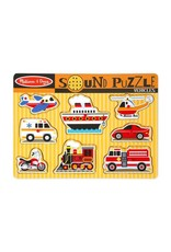 Melissa & Doug Vehicle Sound Puzzle