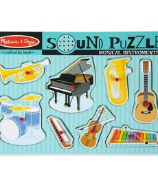 Sound Puzzle- Musical Instruments