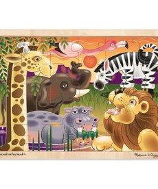 Melissa & Doug African Plains Jigsaw(24 PC)