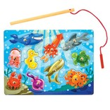 Magnetic Wooden Game-Fishing