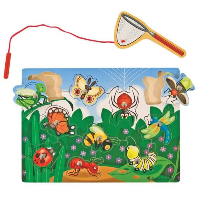Magnetic Wooden Game-Bug Catching