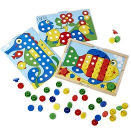 Melissa & Doug Sort-and-Snap Colour Match