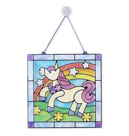 Stained Glass- Unicorn