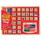Melissa & Doug Favourite Things Stamp Set