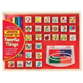 Melissa & Doug Favourite Things Stamp Set