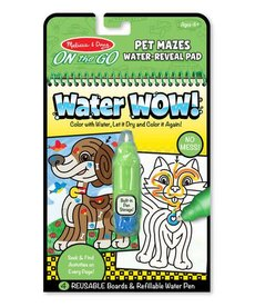 Water Wow!-Pet Mazes
